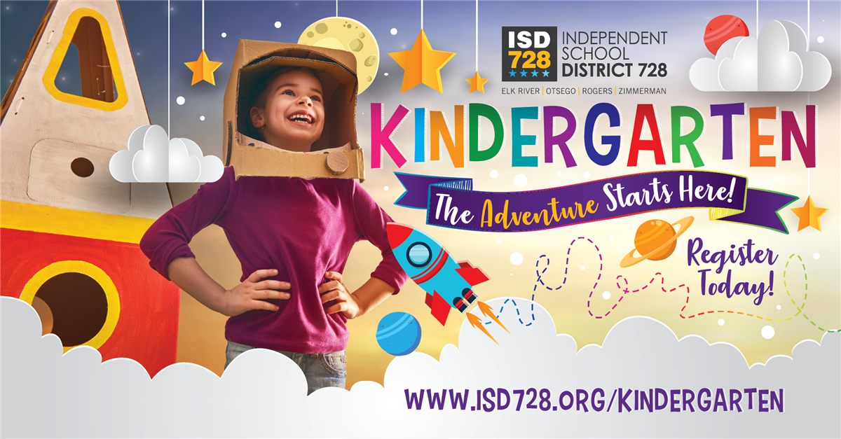 Kindergarten register today!