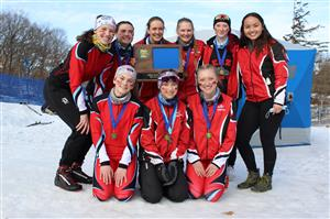 Girls Nordic State Team Picture