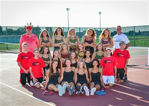 ERHS Girls Tennis Varsity
