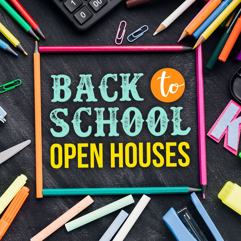 Open Houses Scheduled at Schools Across ISD 728
