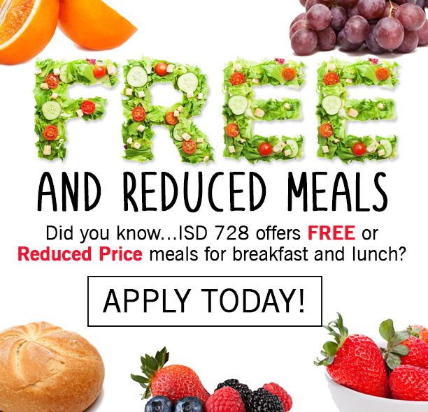 APPLY TODAY FOR FREE OR REDUCED  MEALS