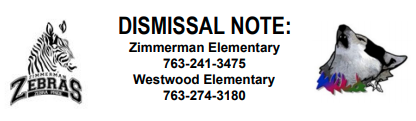New Dismissal Note