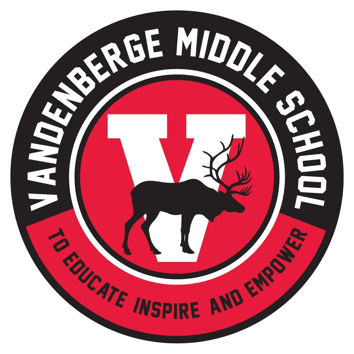 There's a place for YOU at VandenBerge Middle School