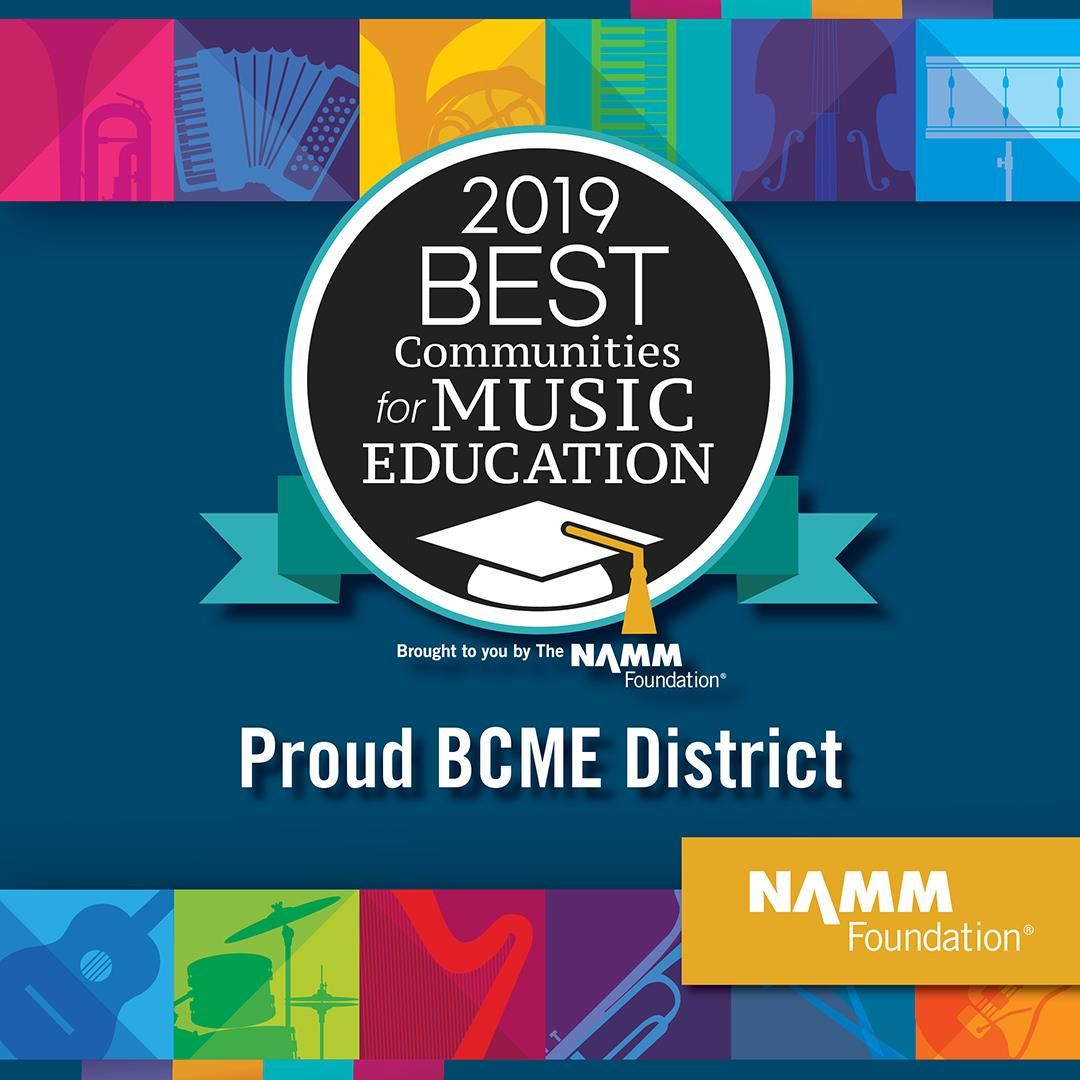 2019 NAMM Best Communities for Music Education
