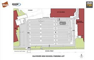 ERHS parking lot