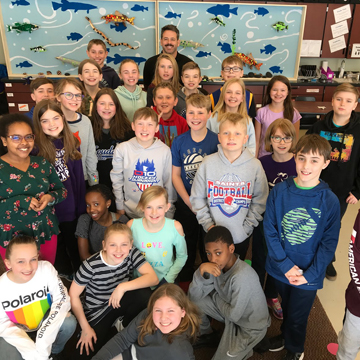 "NBC's ""Making It"" Artist Swims with Students at Hassan"