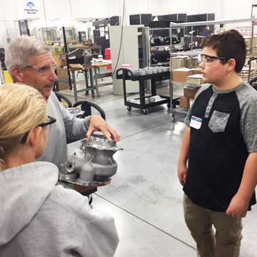 Local Businesses Host ISD 728 for Cool Jobs Tour