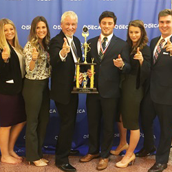 SPIRE Credit Union Honored for Teamwork with ERHS DECA Program