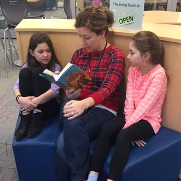 PVEMS Wraps 'I Love to Read Month'