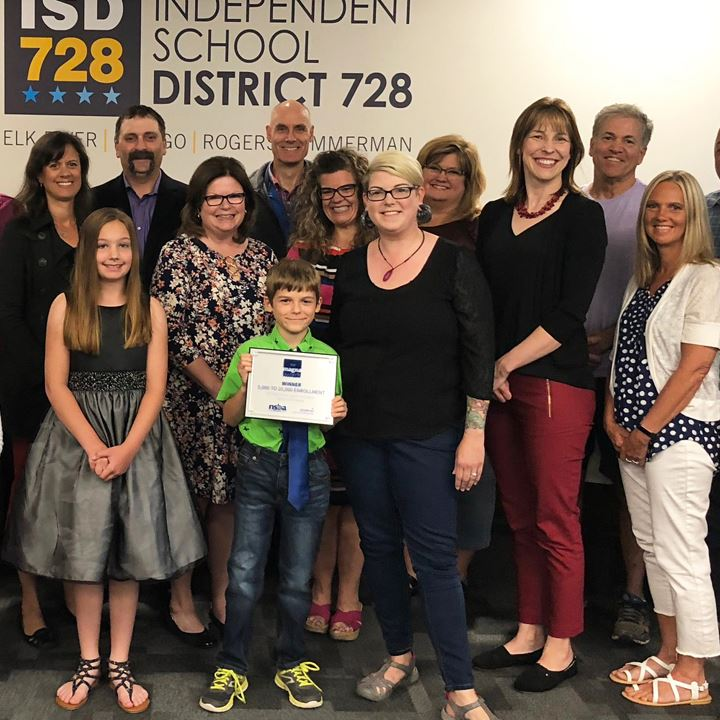 District, School Board Celebrate MAGNA Award with Special Presentation