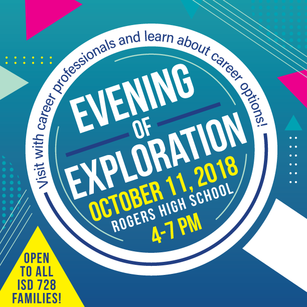Evening of Exploration at Rogers High School