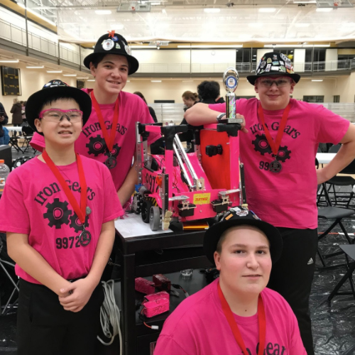 Two ISD 728 Teams Headed to State Robotics Competition