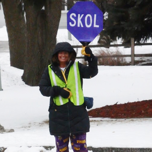More Vikings Pride – A SKOL Sign at Parker