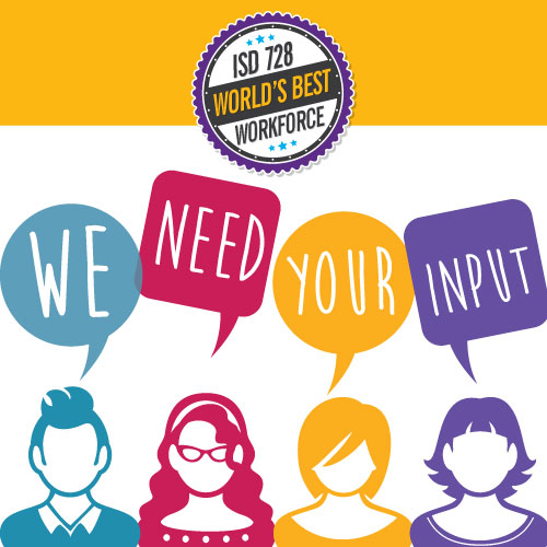 Take the ISD 728 World's Best Workforce Survey Today