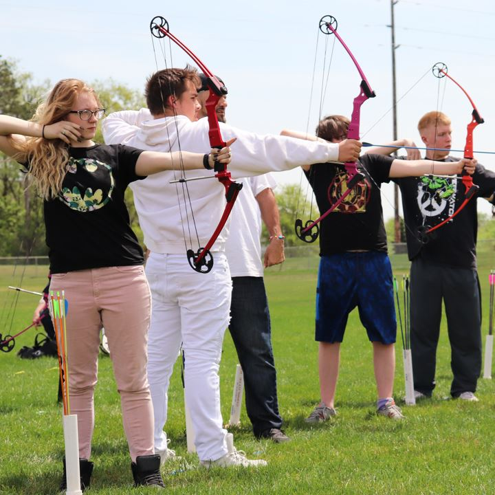 Zimmerman Students Take Aim with Archery