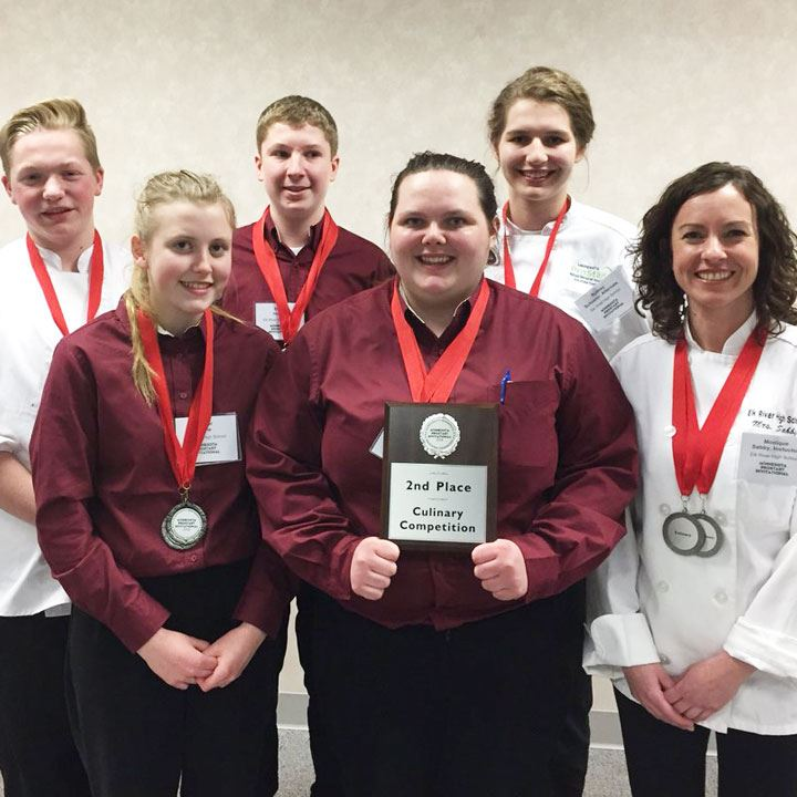 ERHS Earns Silver Twice, RHS Bronze at ProStart Invitational