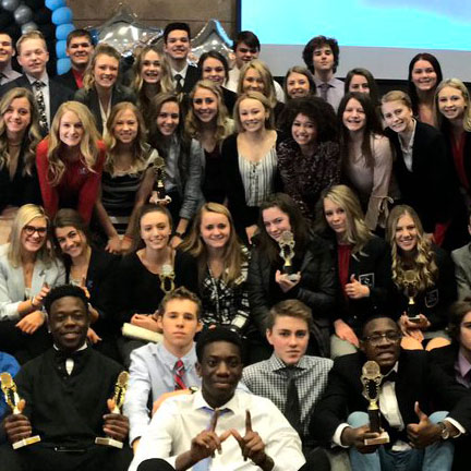 Elk River High School Students Place at MN DECA Competition