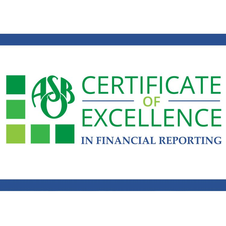 ISD 728 Finance Department Earns National Certificate of Excellence