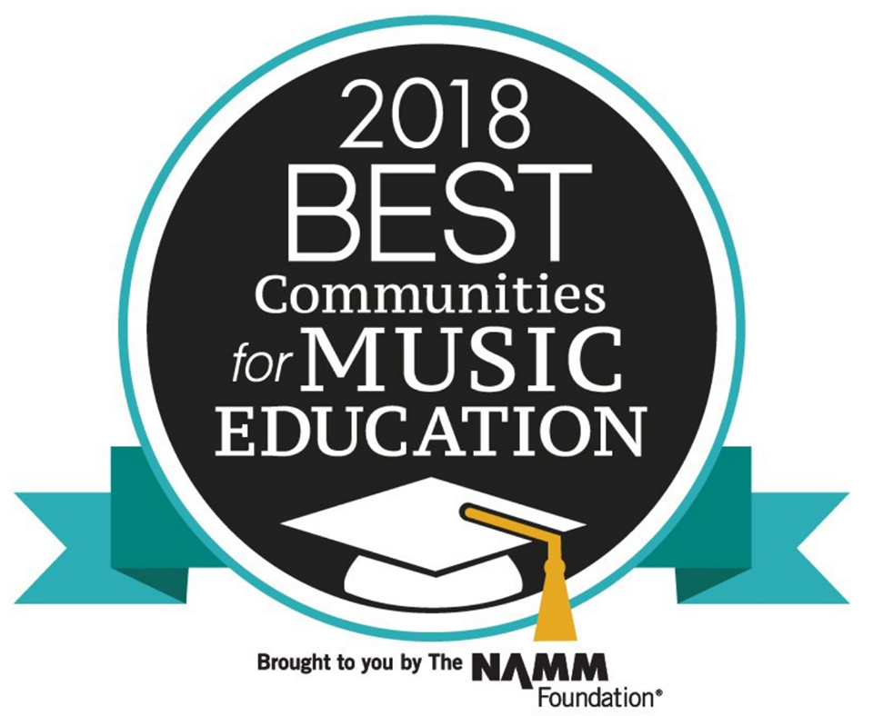 ISD 728 Earns Third Straight NAMM Award