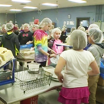 Fifth-Graders Get TV Time, Give Back with Trip to FMSC