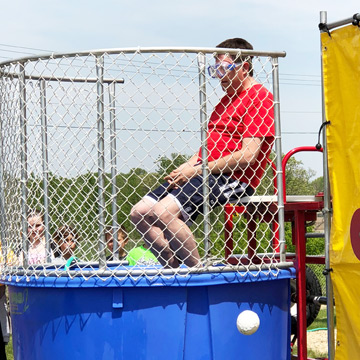Twin Lakes Students Rewarded with Chance to Dunk the Teacher