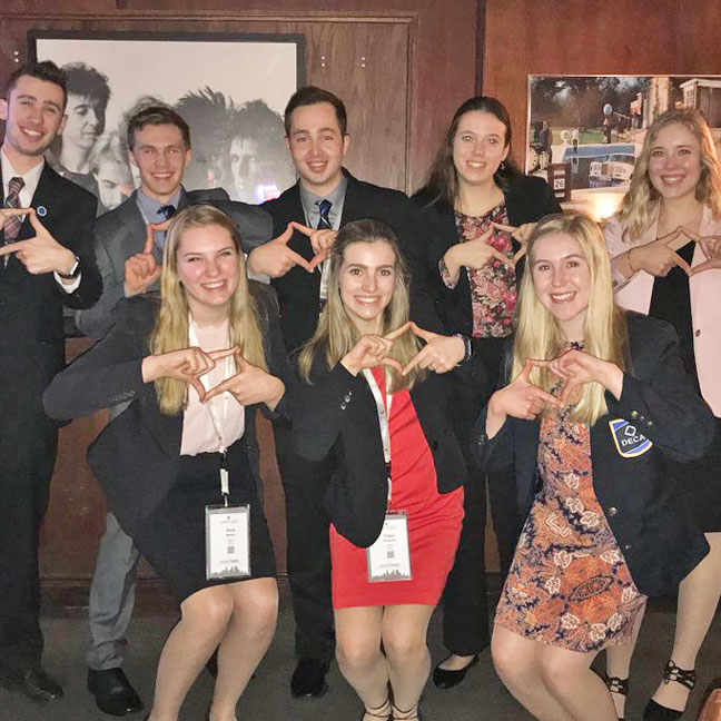 Rogers High School DECA Chapter Earns State Honors, Will Send 11 to Atlanta