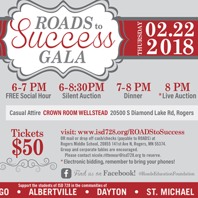 ROADS to Success Gala