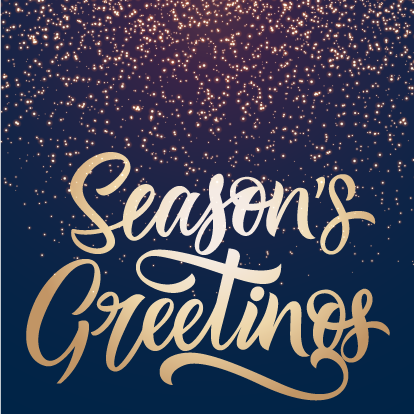 Season's Greetings from the Superintendent