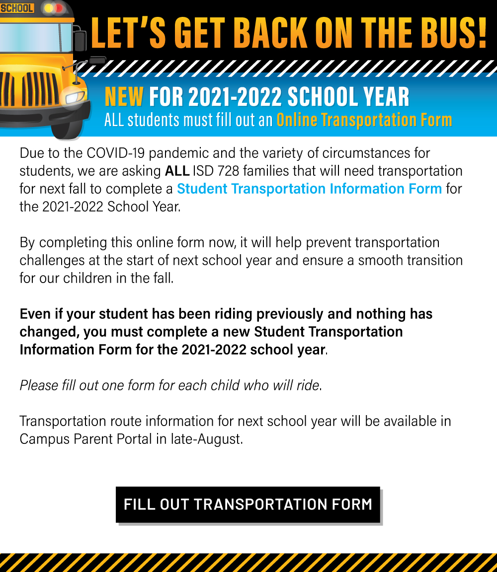 Fill Out the Online Transportation Form